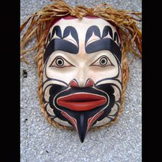 Raven Transforming Mask