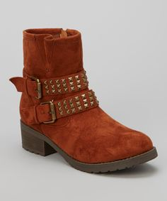 Tan Double-Buckle Christoph Boot   Daily deals for moms, babies and kids