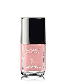 Chanel Nail Colour   Rose Cache, for Spring.