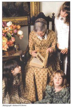 Tasha reading to the girls