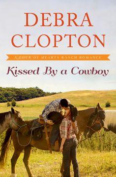 Debra Clopton - Kissed by a Cowboy  / #awordfromJoJo #CleanRomance #ChristianFiction #DebraClopton