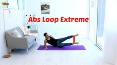 Abs Core Workout Resistance Band - BARLATES BODY BLITZ Abs Loop Extreme with Linda Wooldridge - YouTube
