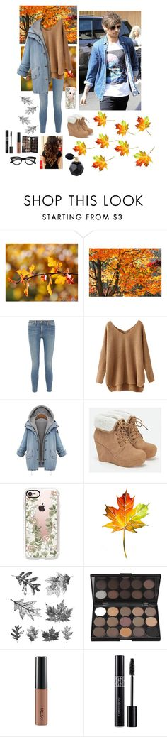 """""""Taking a Stroll with Louis"""" by emjaymusic ❤ liked on Polyvore featuring Frame, JustFab, Casetify, Tim Holtz, MAC Cosmetics and Christian Dior"""