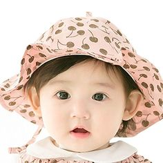 6bbde943c6d 2017 New Brand fruits print baby sun caps hats Crochet Beanie girls newborn  toddler infant bebe bonnet kids bucket cap
