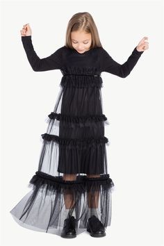 TWINSET :: Clothing ages 6-16 :: Tulle dress :: GA7LBF