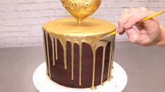 Heart of Gold Drip Cake Tutorial