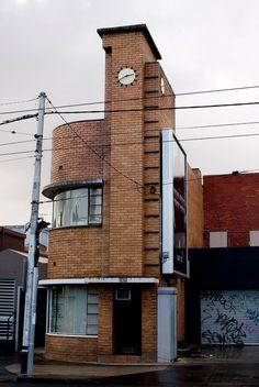 Art Deco - Doctor's Office, Malvern, Australia Modern Architecture House, Amazing Architecture, Architecture Details, Interior Architecture, Melbourne Architecture, Cba Design, Art Deco Design, Art Deco Decor, Art Deco Home