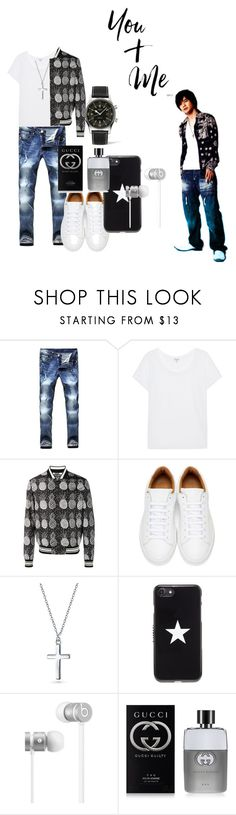 """""""Boy Next Door"""" by roseyfox ❤ liked on Polyvore featuring Splendid, Dolce&Gabbana, Marc Jacobs, Bling Jewelry, Givenchy, Beats by Dr. Dre, Gucci, Longines, men's fashion and menswear"""