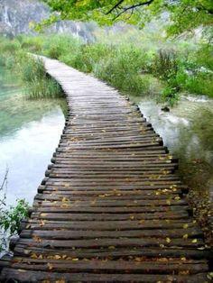 a long winding path