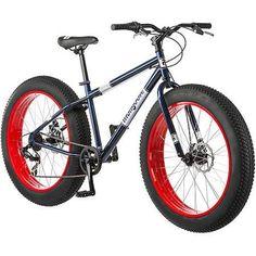 26 Mongoose Dolomite Men's 7-speed All-Terrain Fat Tire Mountain Bike