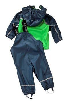 Super lækre Name it Regnsæt Mørkeblå Name it Overtøj til Børn & teenager i behageligt materiale