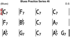 [Blues Practice Series] Blues (Slow Blues in C Key Tempo - Backing Track Jazz Standard, Kind Of Blue, Backing Tracks, Blues Music, Bass, Sheet Music, Composition, Notes, Key
