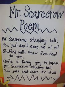 Chalk Talk: A Kindergarten Blog: Scarecrows