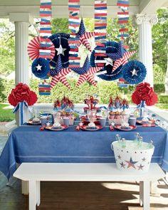 Red, White, and Blue Bash - Martha Stewart