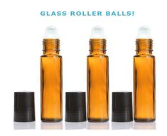 10ml 3oz Amber Gl Roller Bottles From Grandparfums On Etsy Used For The