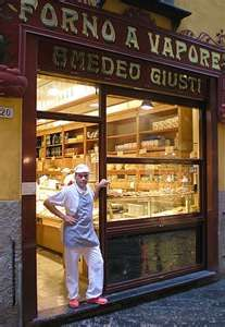 The best bread shop in Lucca, Italy - renowned for its Buccellato. nom nom nom
