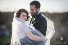 Beautiful couple with veil