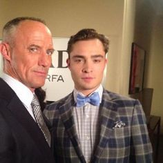 GG set - Robert John Burke, Ed Westwick - July 5 (Kelly's Rutherford picture - Instagram)