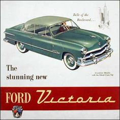 1951 Ford Victoria: Belle of the Boulevard.