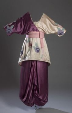 ca 1913 -- Poiret (France): This gem is now at the FIT Museum, NYC.