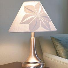 Flower lampshade design