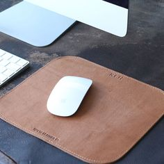 The Architect personilzed Fine Leather Mouse Pad Mousepad Office Accessories…