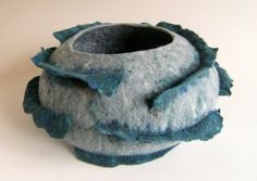 donegal yarn felt vessel