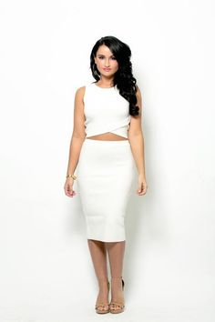 WHITE SIREN 2-Piece Set