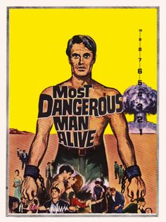 Most Dangerous Man Alive 1961 Several Movies, Man Alive, Movie Tv, Tv Series, It Cast, Mood, Movie Posters, Film Poster, Popcorn Posters