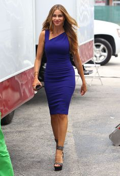 """5. Sofia Vergara On The Set Of """"Chef"""" 