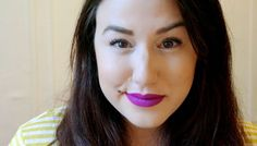 5 Ways To Wear Purple Lips, From Intense To Barely There