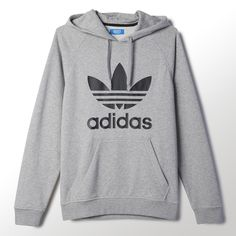 Cute Lazy Outfits, Sporty Outfits, Boy Outfits, Adidas Trefoil Hoodie, Adidas Hoodie, Teen Girl Fashion, Teen Fashion Outfits, Black Ripped Jeans Outfit, Mode Adidas