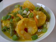 Mrs Ed's Research and Recipes: Coconut Shrimp Curry (SCD, GFCF)