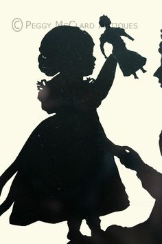 History of Antique Silhouette - Peggy McClard Antiques