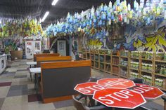 Nearly Everything In This Office Is Made Out Of Trash (And The Photos Are Amazing)