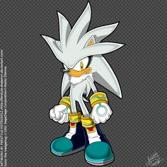 Silver the Hedgehog by Ferstyle-Fotek on DeviantArt Hedgehog Art, Sonic The Hedgehog, Silver The Hedgehog, Sonic Art, Kpop, Disney Characters, Fictional Characters, Sketches, Deviantart