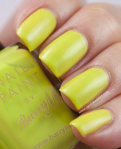 Acid yellow nail polish!!