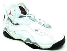 save off e3cac f0995 ... best price jordan true flight bg white gym red black wolf grey 343795  121 size 4.5