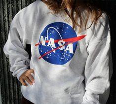 NASA Space Astronaut Unisex Pullover Sweater Sweatshirt Jumper Shirt Top
