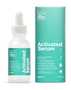 White Rx Activated Serum - Targets the appearance of skin pigmentation with fast-acting (short-term) and sustained (long-term) independently-proven technologies.