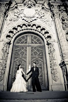 Balboa Park has the best architectural elements.  Look at those doors!