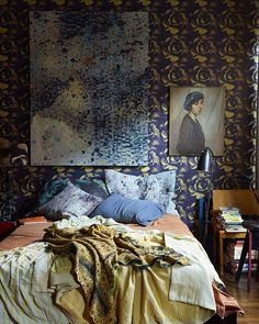 """One more time...without cover lines! The bedroom at #88prince featuring """"The…"""