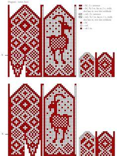 Knitted Mittens Pattern, Knitting Socks, Knitting Patterns, Knitting Projects, Crochet Projects, Fair Isle Chart, Scandi Christmas, Pixel Pattern, Tejidos