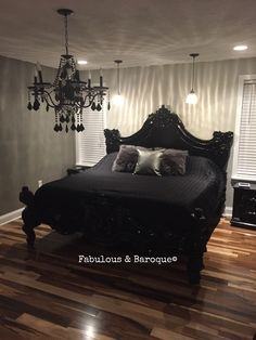 Our signature stunner, Royal Fortune bed!