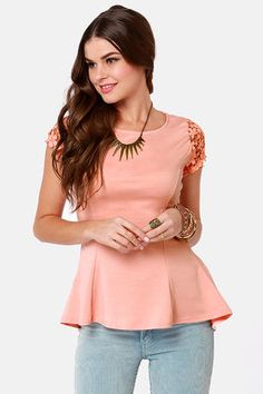 http://www.lulus.com/products/at-charm-s-length-peach-lace-top/82866.html