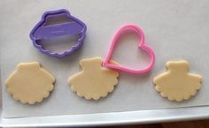 Tutu Cookie Cutter; I think I might use a heart to make the bodice...