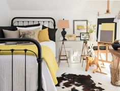 Quartos amarelos: 10 ambientes charmosos com a cor  (Foto: Divulgação)