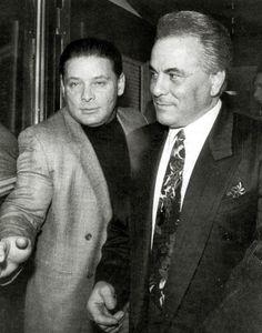 "John Gotti and Sammy ""the Bull"" Gravano http://dapperdon.net/"