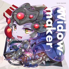 CHIBI WIDOWMAKER by hecoheio Overwatch Widowmaker, Overwatch Comic, Chibi Overwatch, Overwatch Drawings, Overwatch Fan Art, Overwatch Pictures, O Daddy, Chibi Characters, Pin Art
