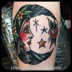 jellesoos: A little moonfaced girl I got to do today!